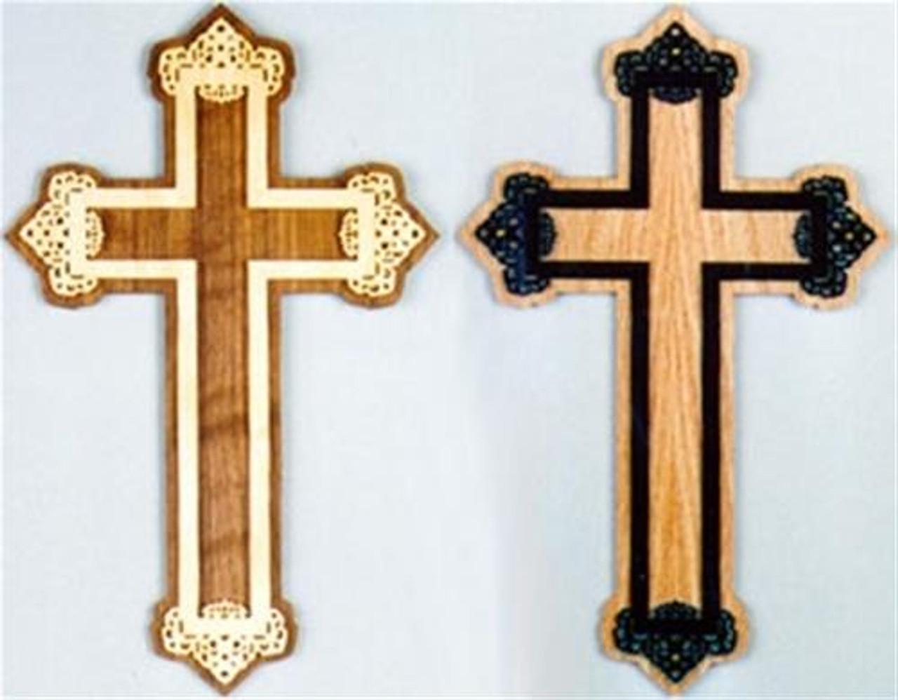 Wildwood Designs Layered Cross Scroll Saw Plan
