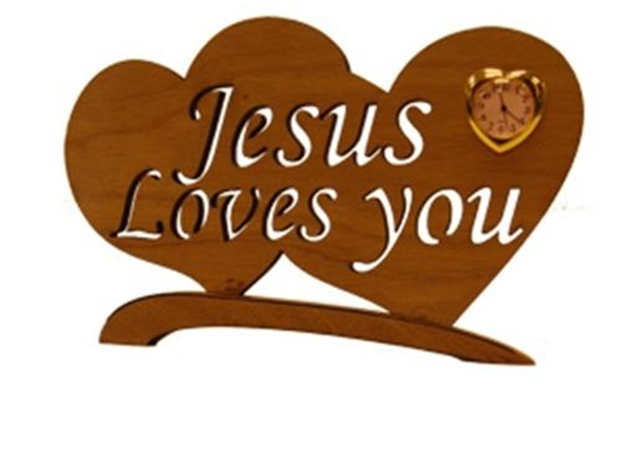Wildwood Designs Jesus Loves You Scroll Saw Plan