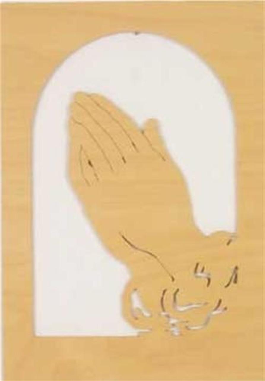 Wildwood Designs Praying Hands Scroll Saw Plan