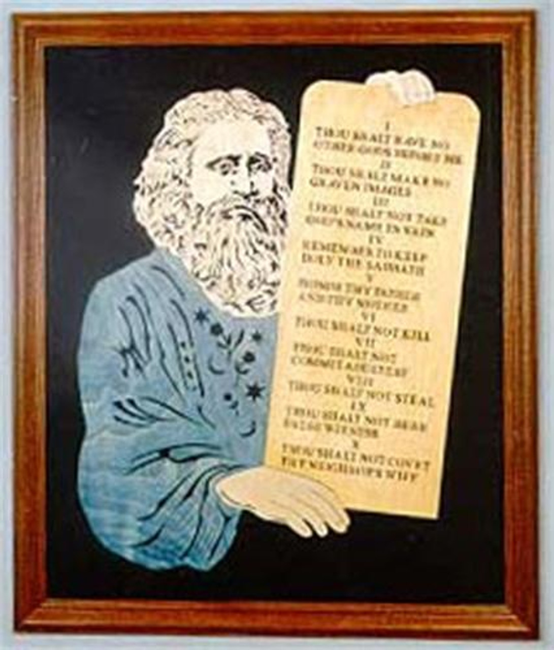 Wildwood Designs The Ten Commandments Scroll Saw Plan