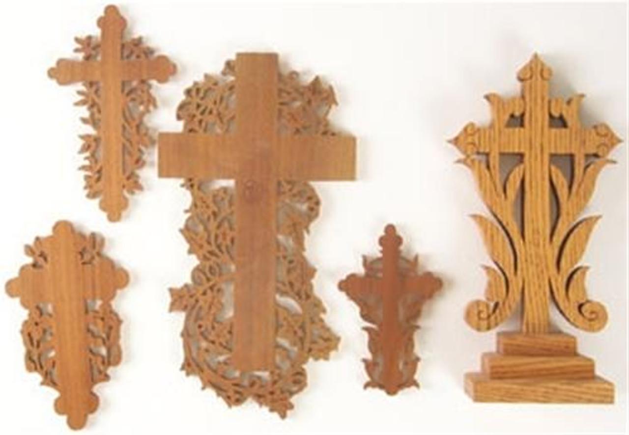 Wildwood Designs Set of Crosses Scroll Saw Plan