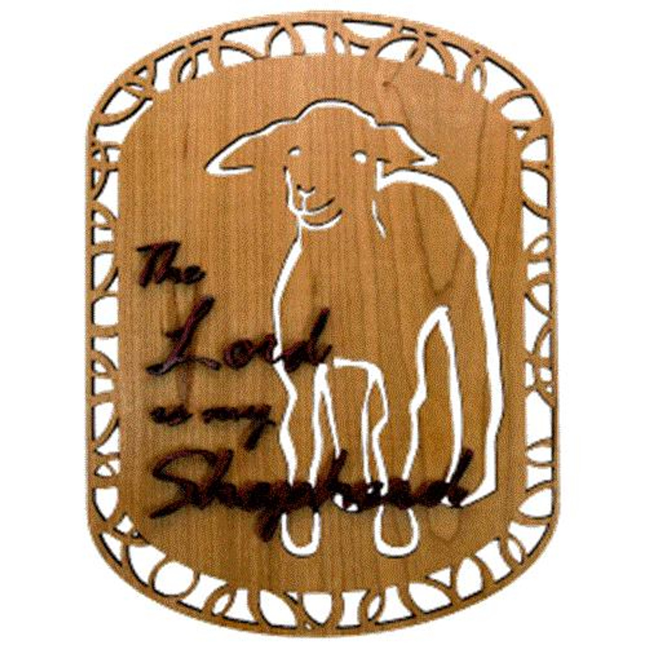 Wildwood Designs Shepherd Lamb Scroll Saw Plan
