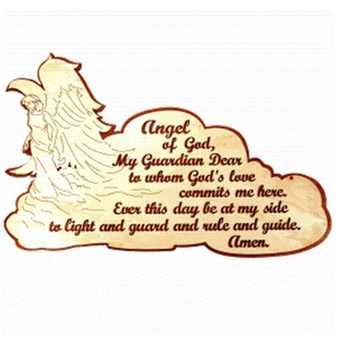 Wildwood Designs Guardian Angel Scroll Saw Plan