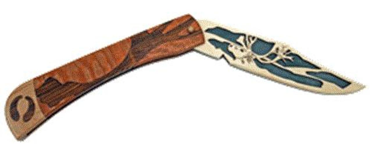 Wildwood Designs Caribou Scroll Saw Pocket Knife Plan