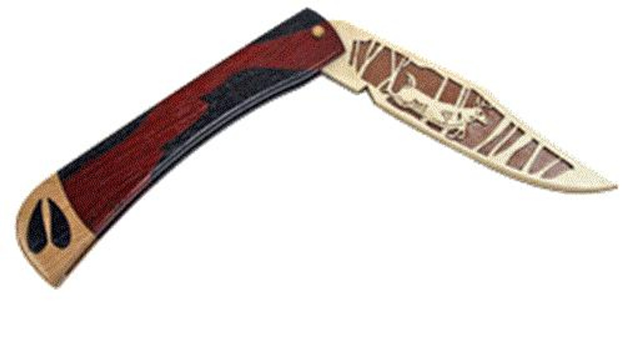 Wildwood Designs Deer Scroll Saw Pocket Knife Plan
