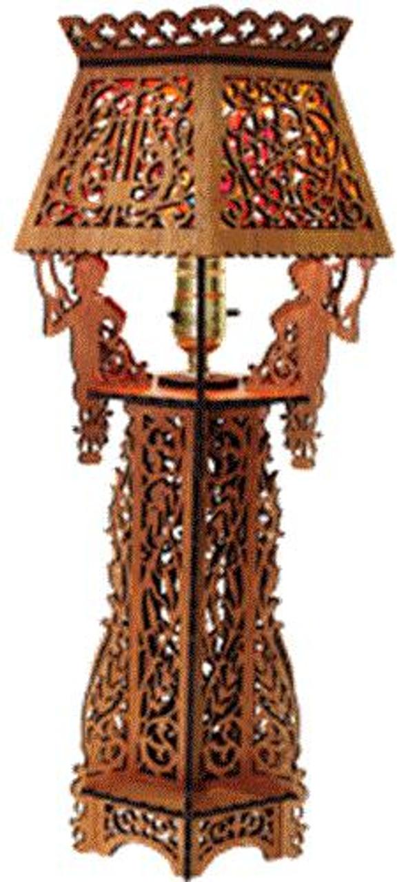 Wildwood Designs Cherub Lamp Plan