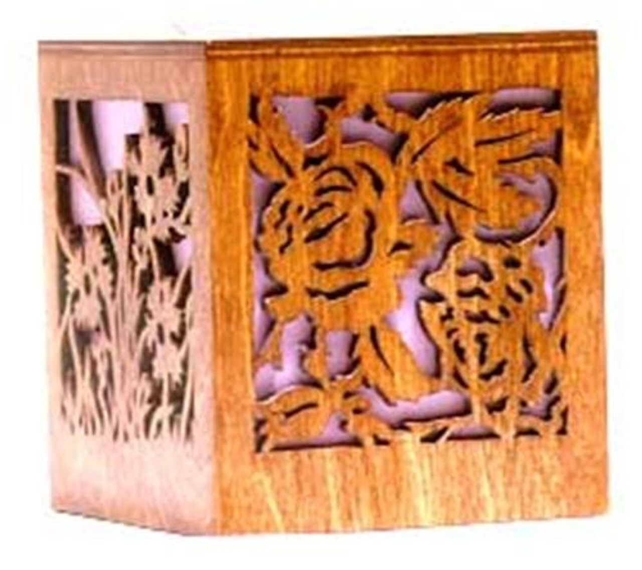 Wildwood Designs Small Rose Tissue Box Plan