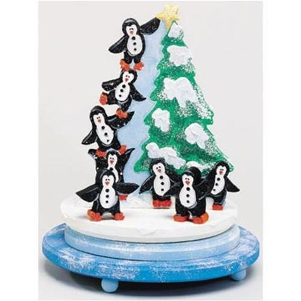 Cherry Tree Toys Penguin Music Carousel Plan