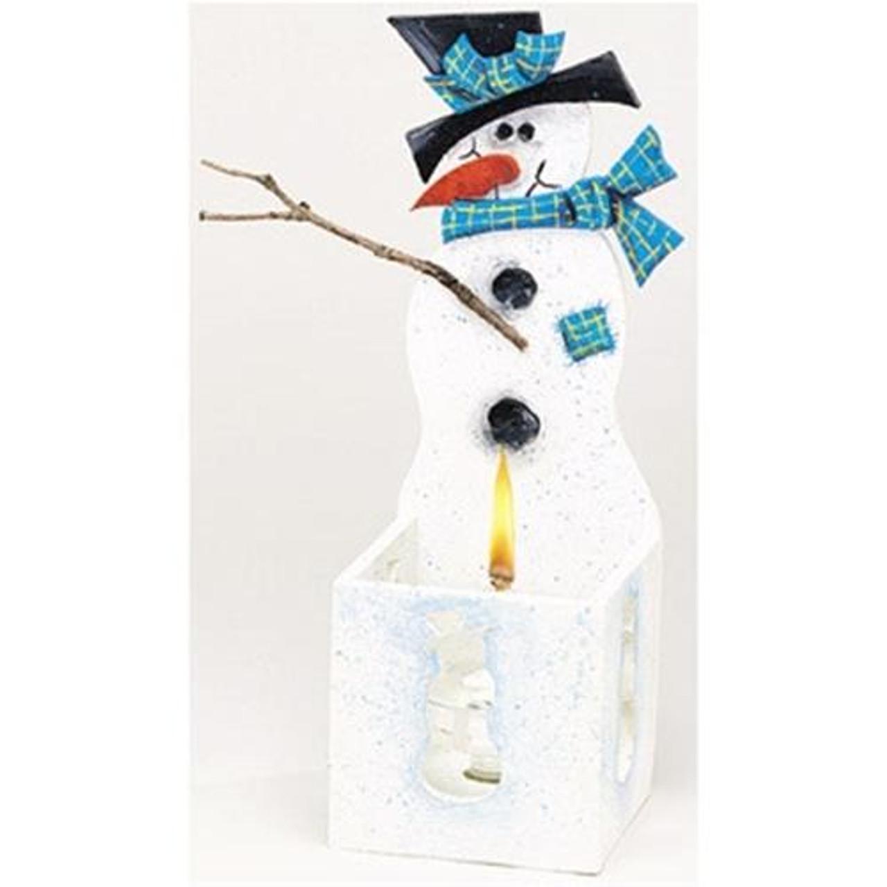 Cherry Tree Toys Snowman Candleholder Plan