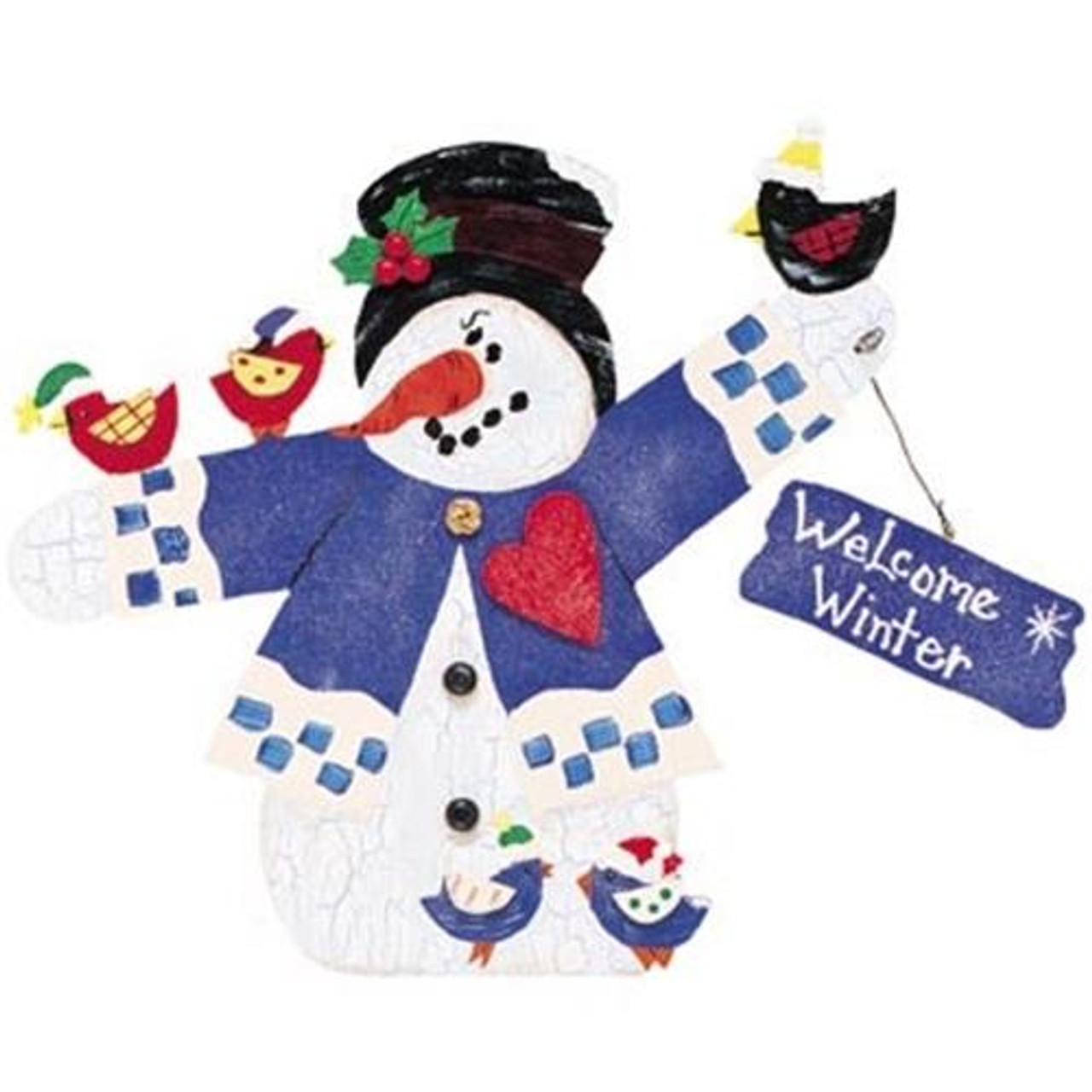 Cherry Tree Toys Welcome Winter Snowman Plan