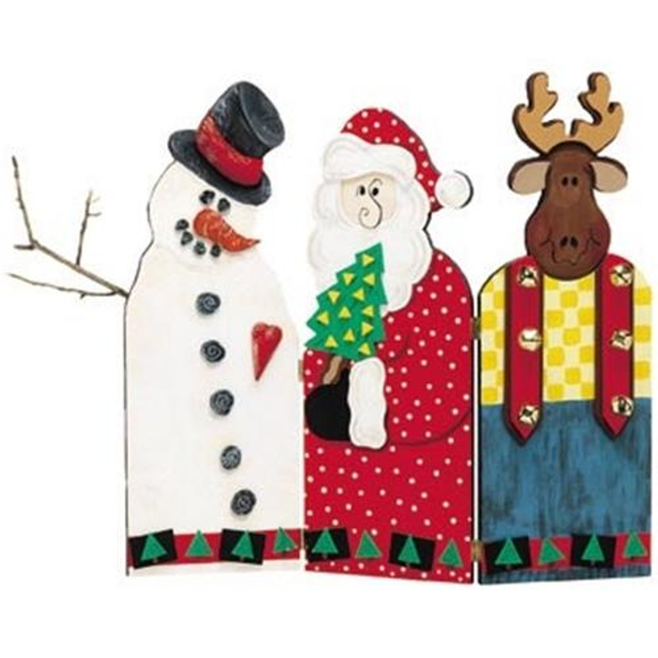 Cherry Tree Toys Holiday Fireplace Screen Plan