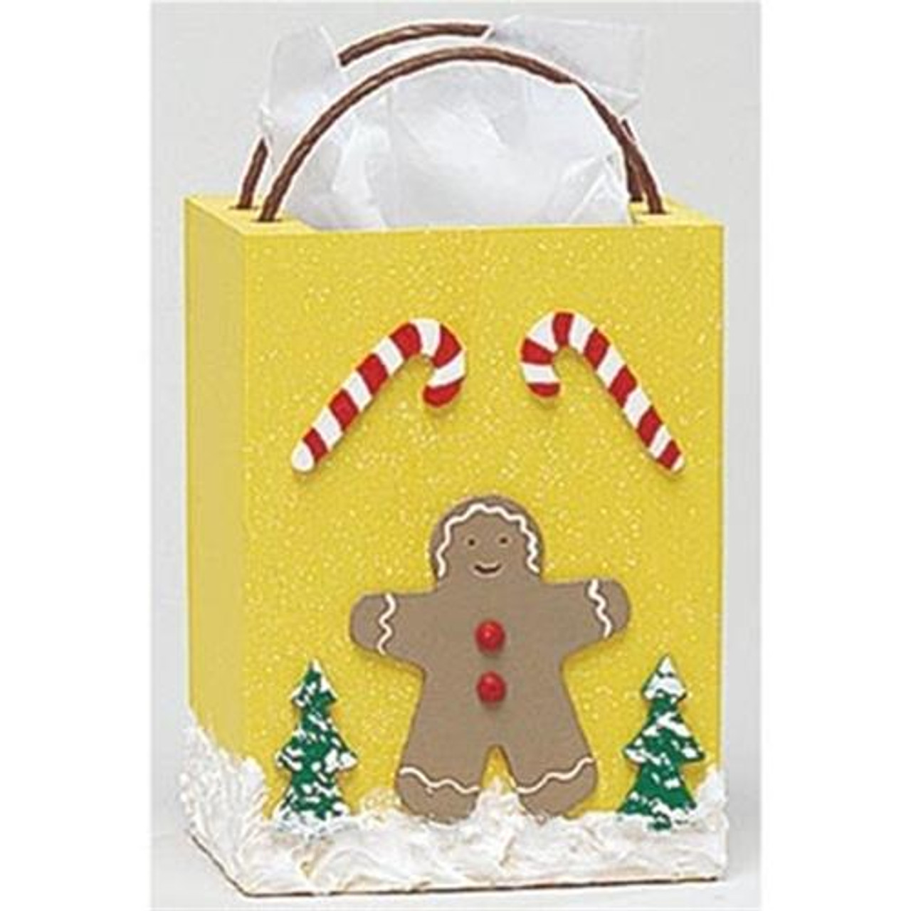 Cherry Tree Toys Small Gingerbread Man Gift Bag Plan