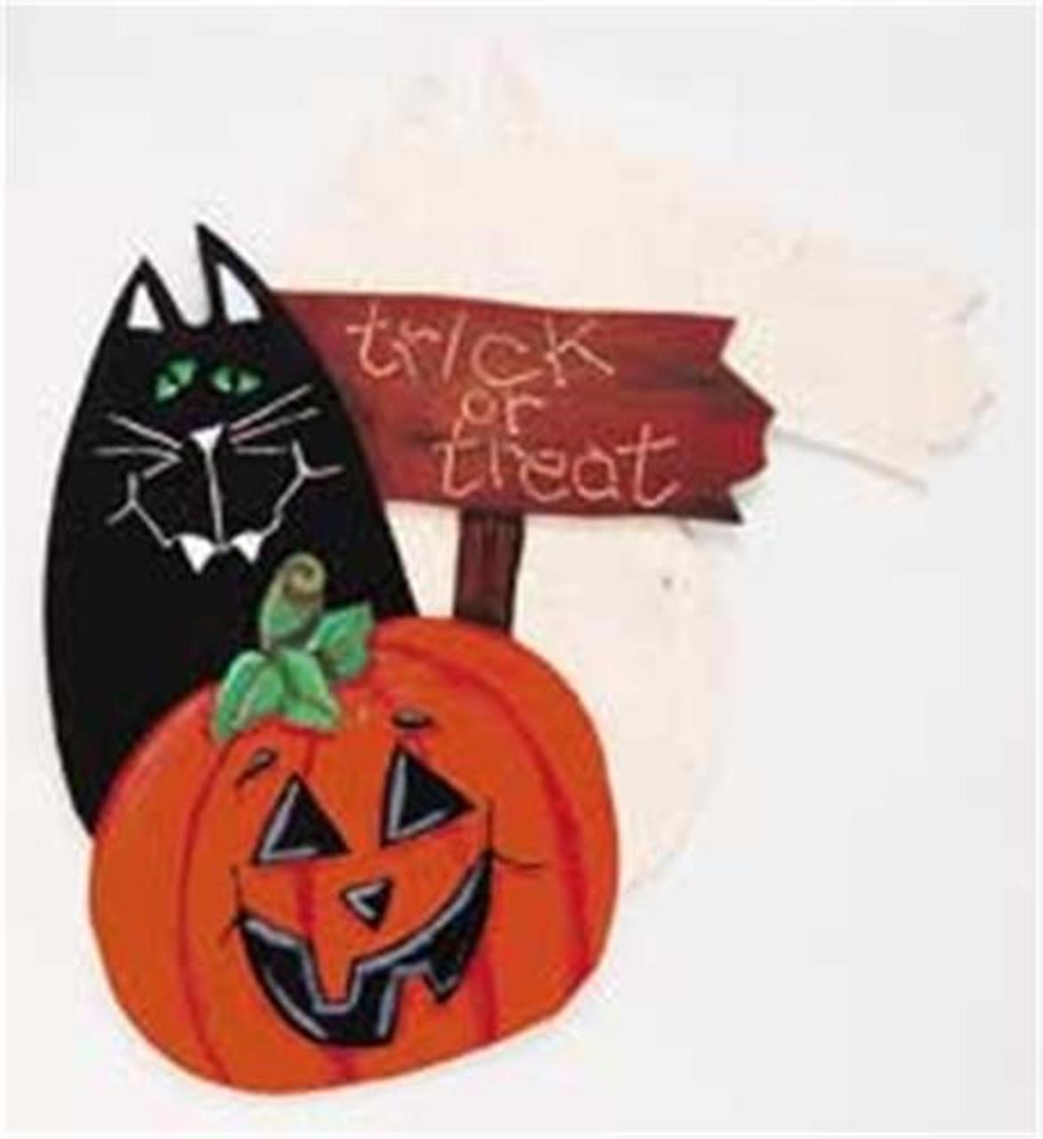 Cherry Tree Toys Cat and Pumpkin Plan