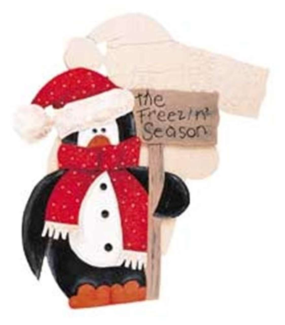 Cherry Tree Toys Penguin Yard Art Plan