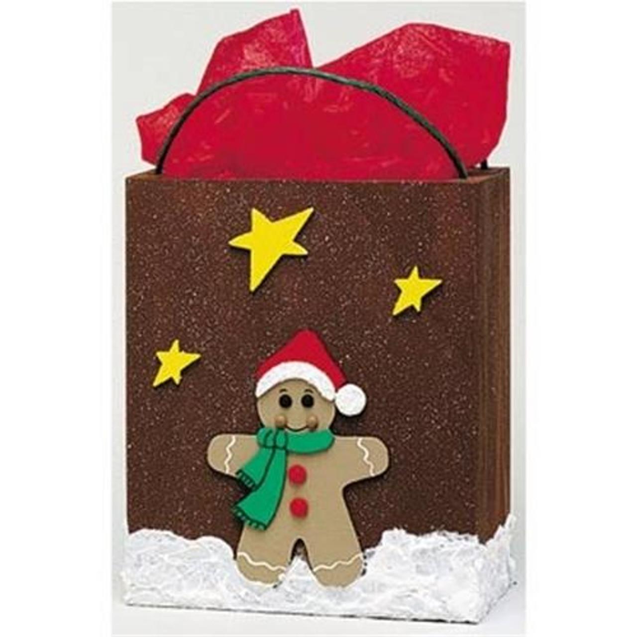 Cherry Tree Toys Large Gingerbread Man Gift Bag Plan