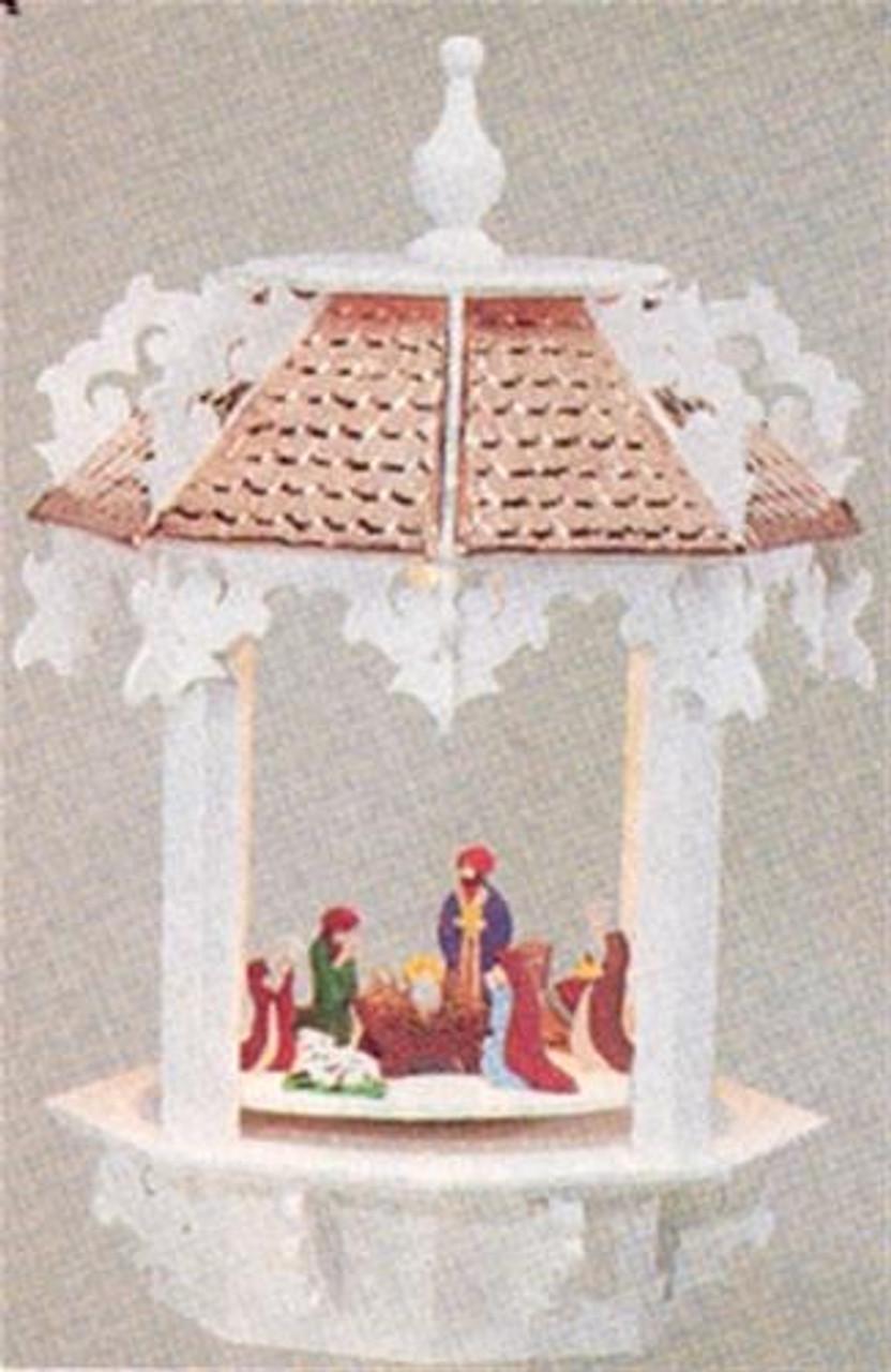 Cherry Tree Toys Motor Nativity Carousel Plan