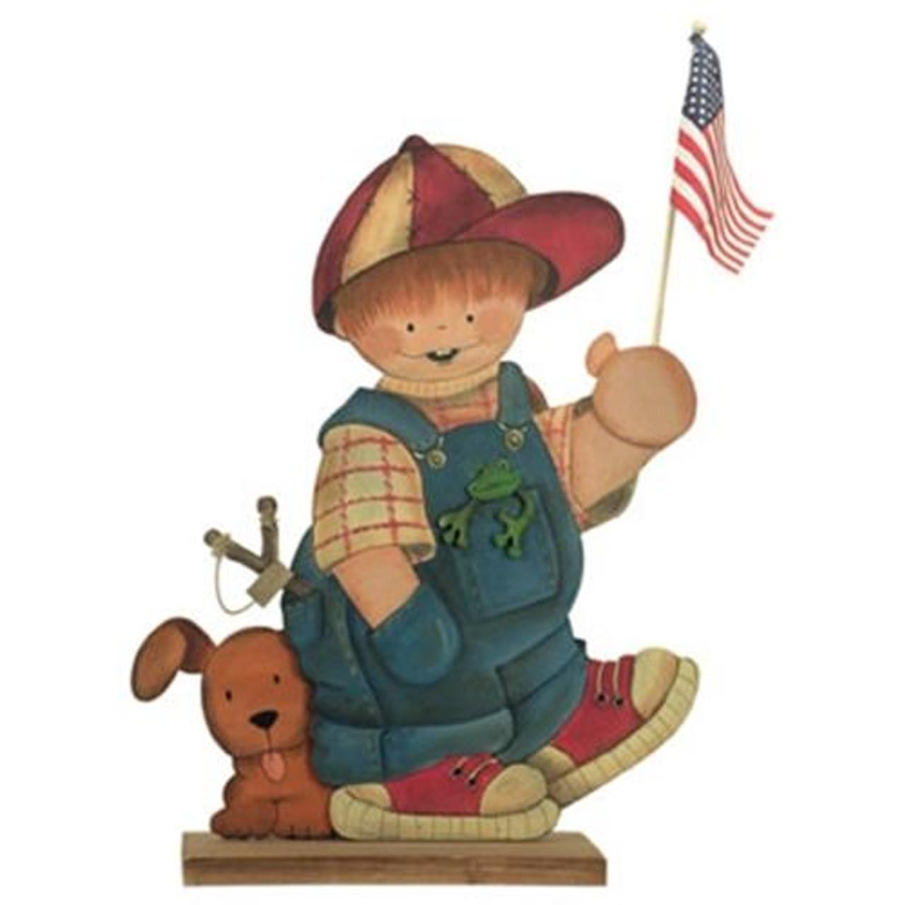 Cherry Tree Toys All American Boy Plan