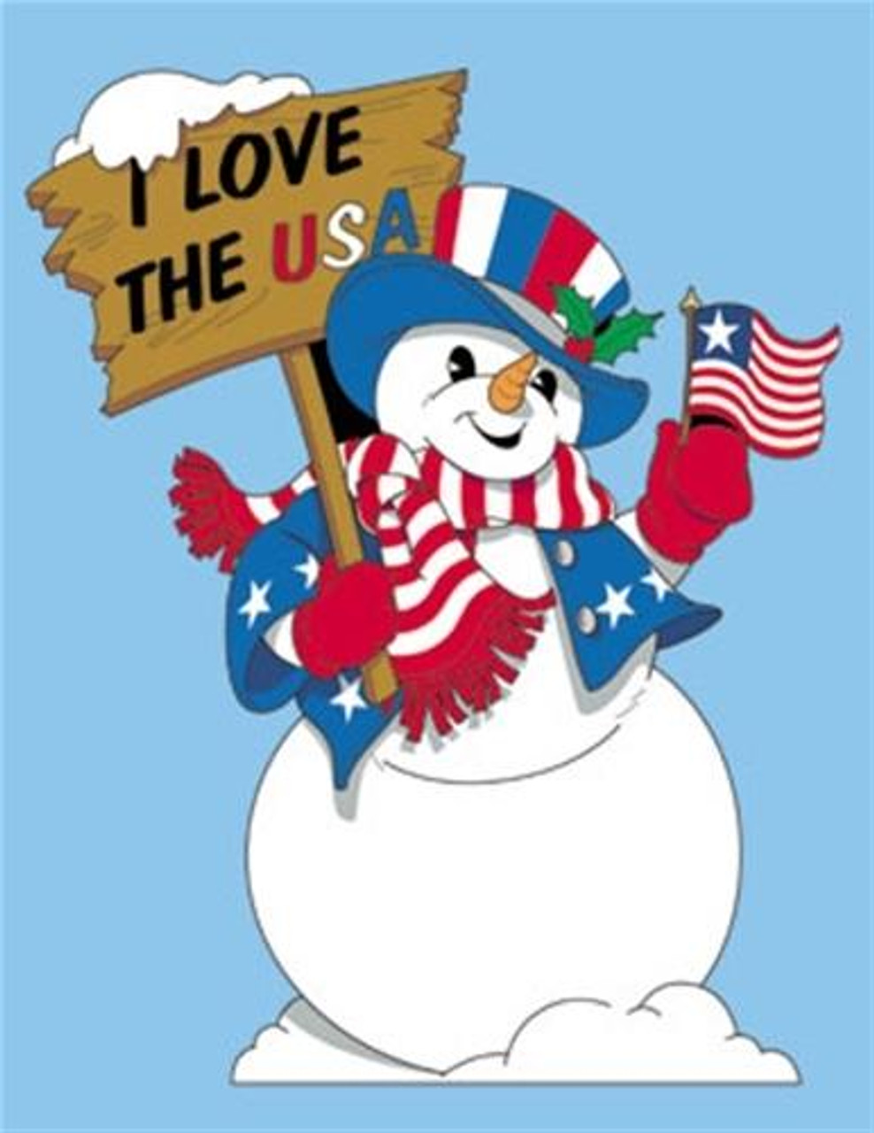 Sherwood Uncle Sam Snowman Woodworking Plan is Americas favorite version of Patriotism.