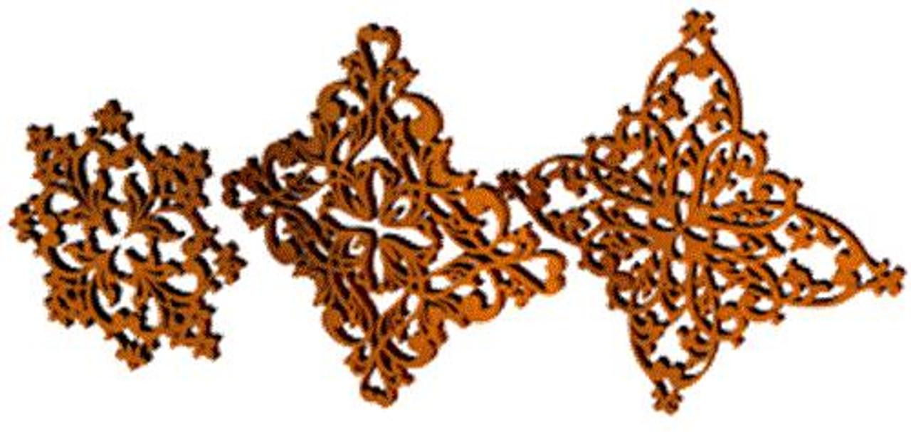 Timberlace Filigree Ornaments Plan