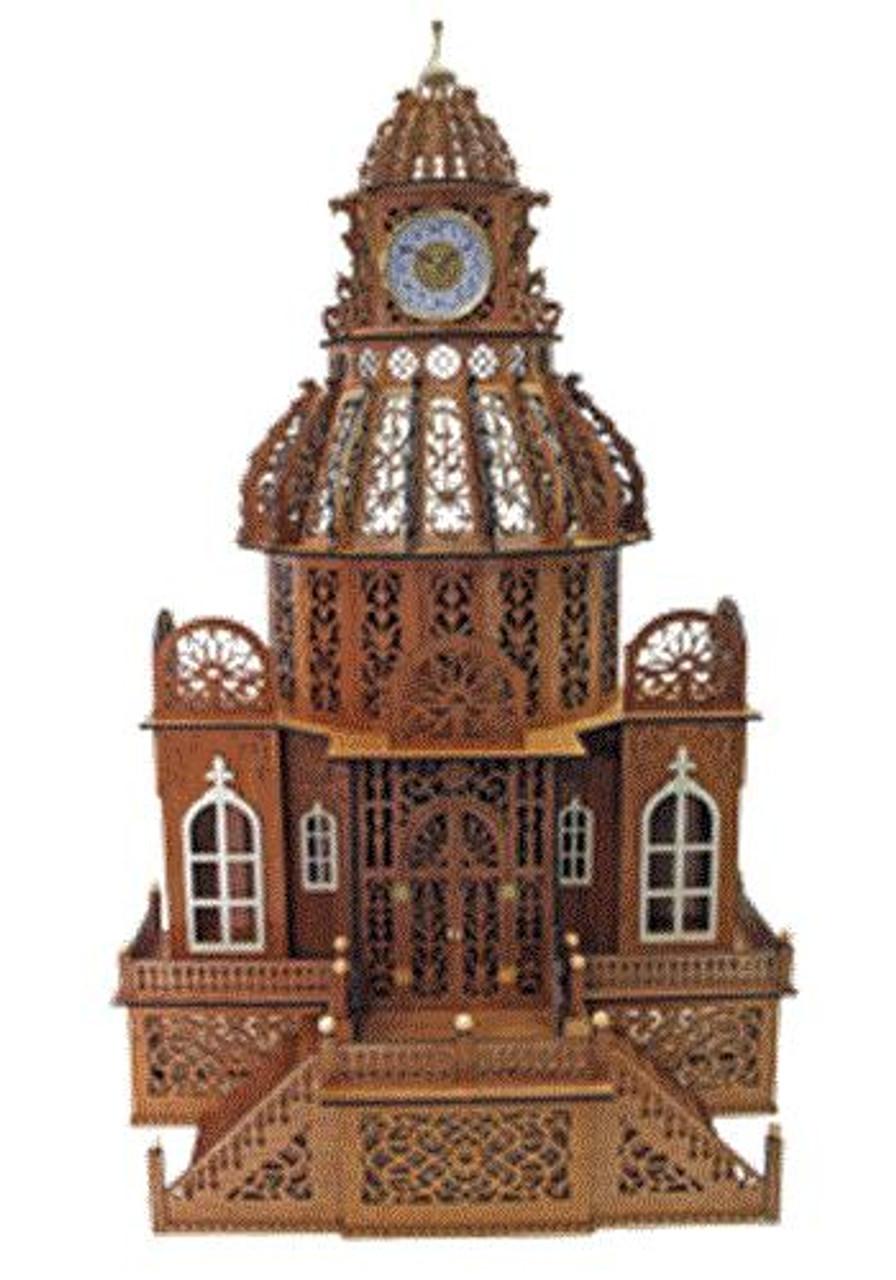 Wildwood Designs The Kingston Scroll Saw Clock Plan