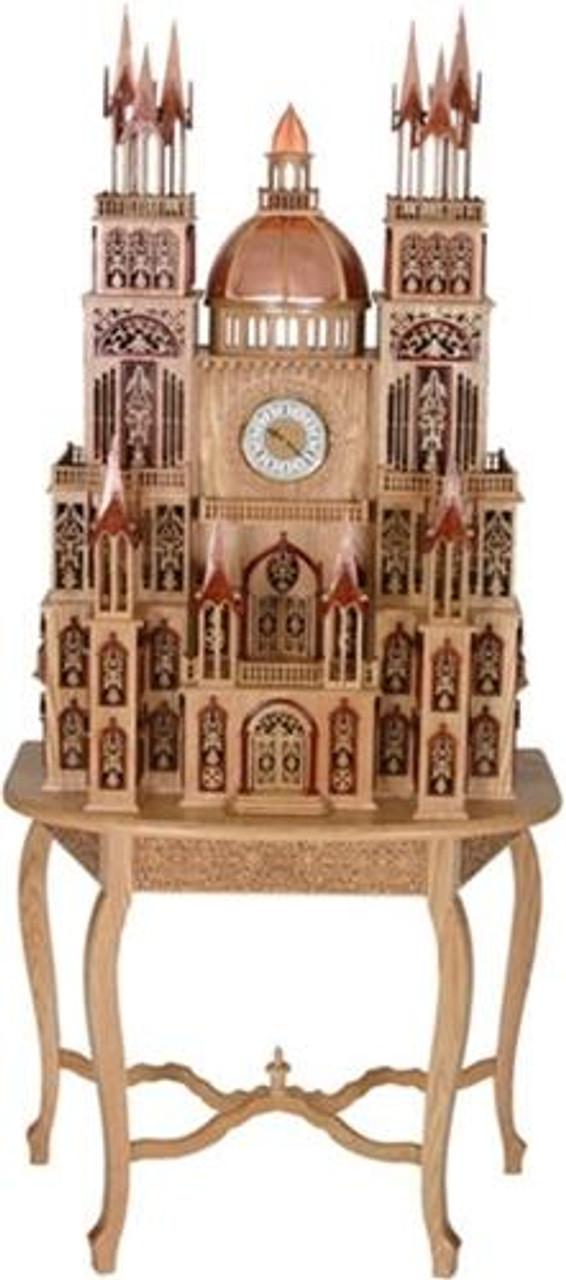 Wildwood Designs Shopiere Scroll Saw Clock Pattern