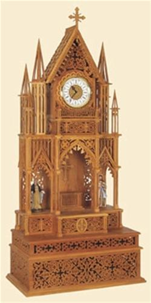 Wildwood Designs The Salzburg Scroll Saw Clock Plan
