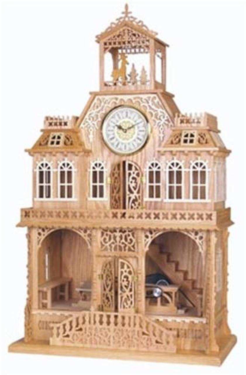 Wildwood Designs Workshop Clock Scroll Saw Plan