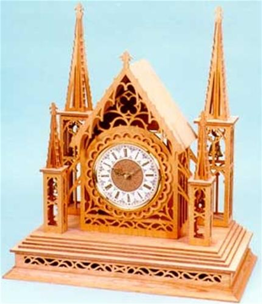 Wildwood Designs Majestic Spires Scroll Saw Clock Plan