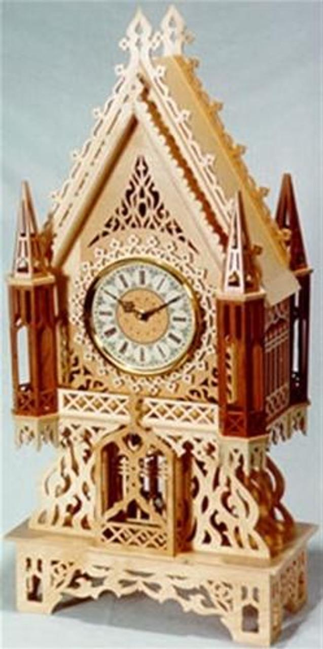 Wildwood Designs The Heidelberg Scroll Saw Clock Plan