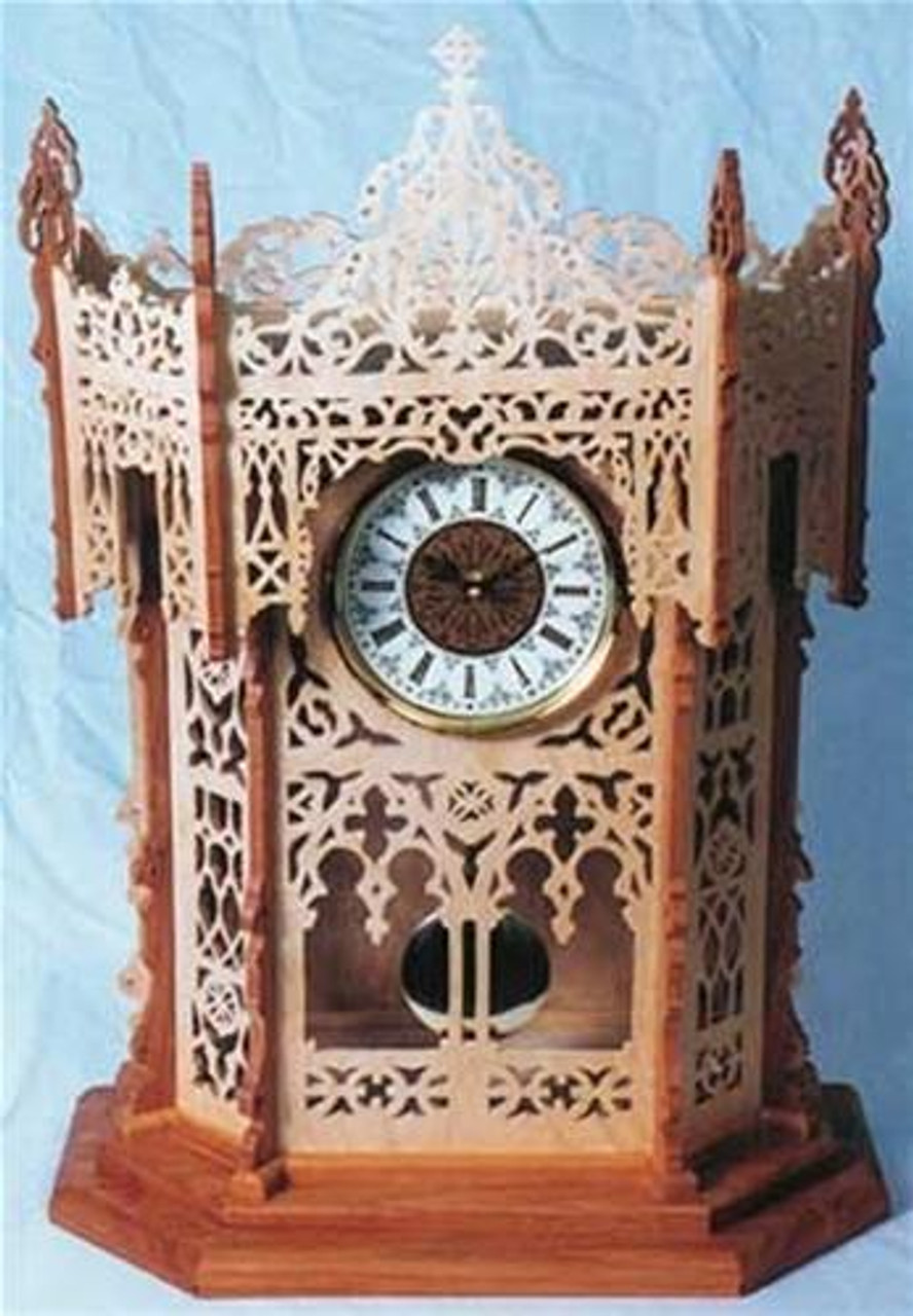 Wildwood Designs The Calwell Scroll Saw Clock Plan