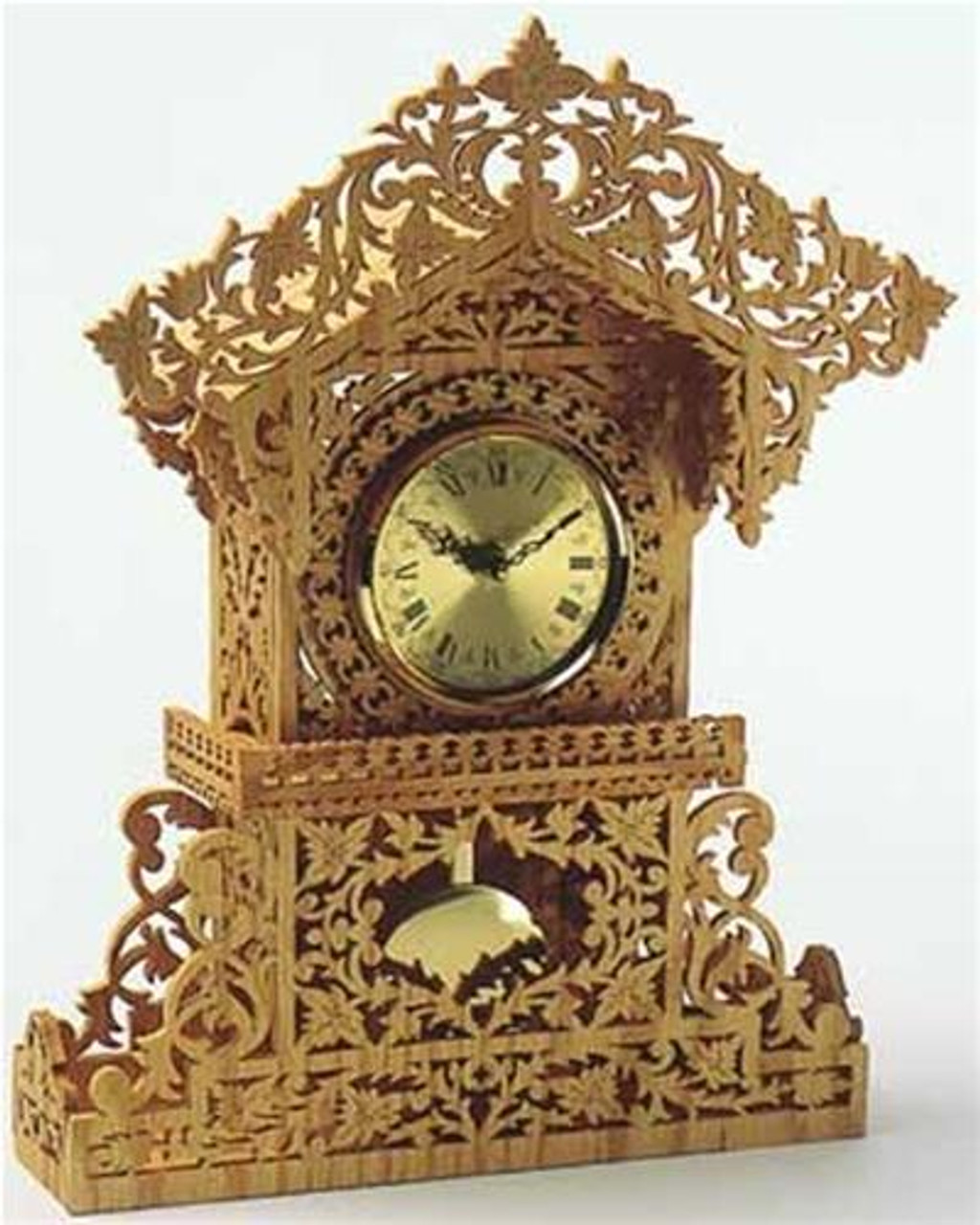 Wildwood Designs Queens Clock Scroll Saw Plan