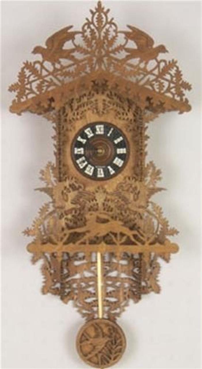 Wildwood Designs Black Forest Clock Scroll Saw Plan