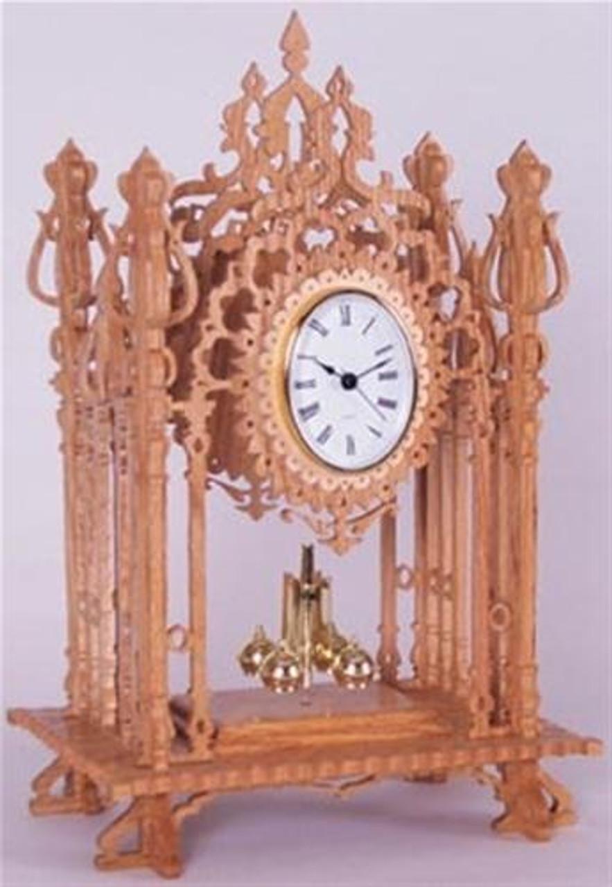 Wildwood Designs Queen Ann Scroll Saw Clock Pattern