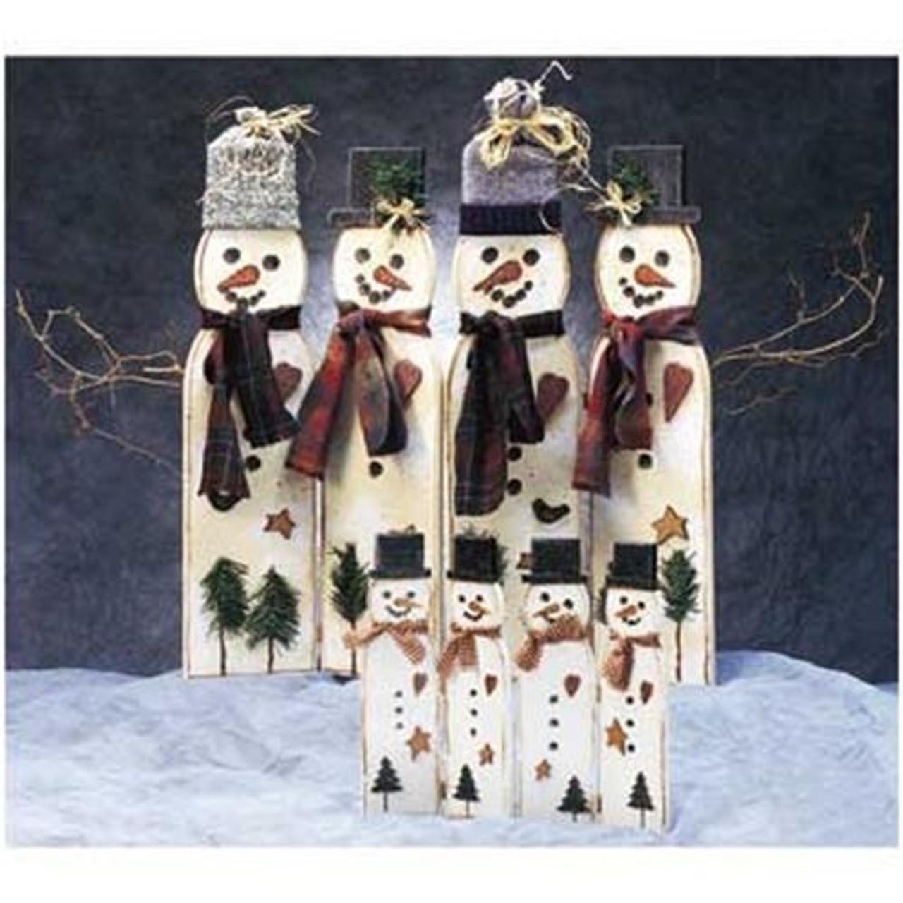 Cherry Tree Toys Large Snowman Screen Plan