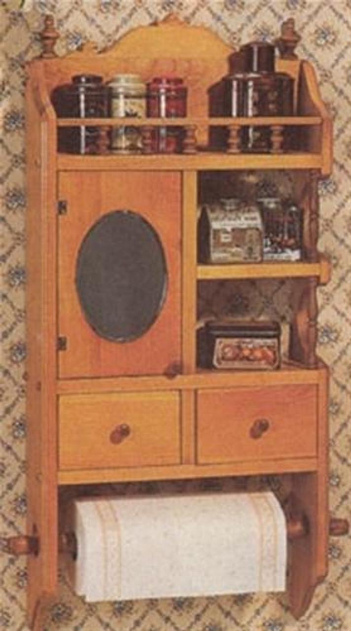 Cherry Tree Toys Country Storage Shelf Plan