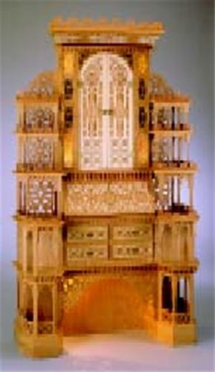 Wildwood Designs 1800s Style Secretary Cabinet Scroll Saw Plan
