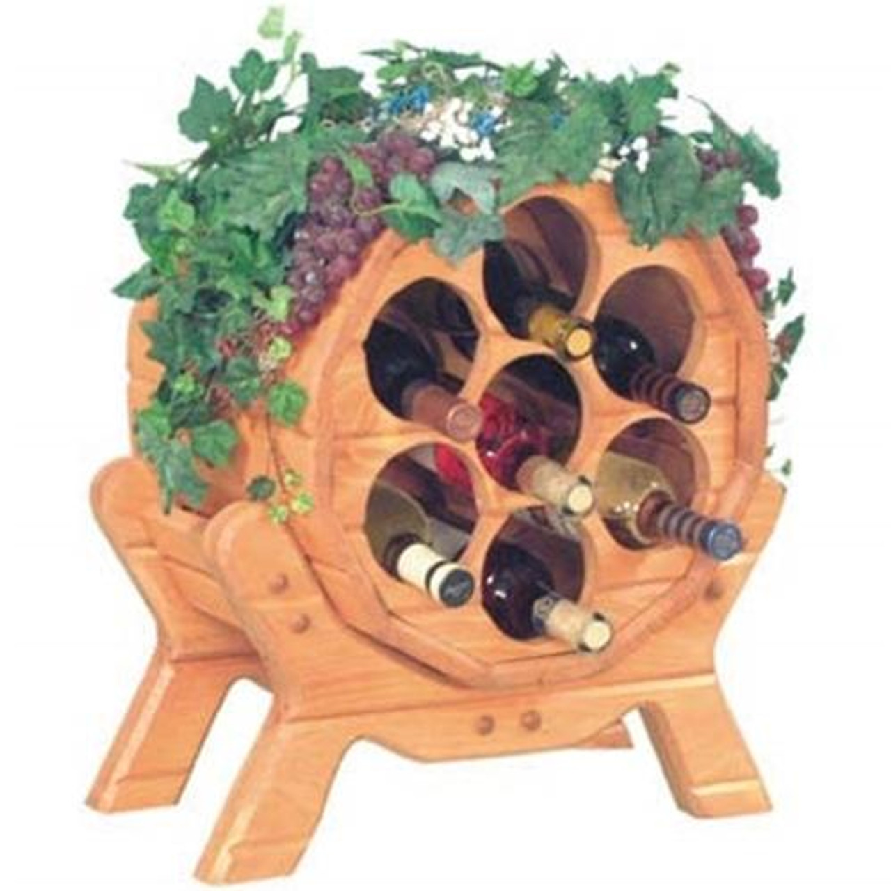 Cherry Tree Toys Napa Wine Rack Plan