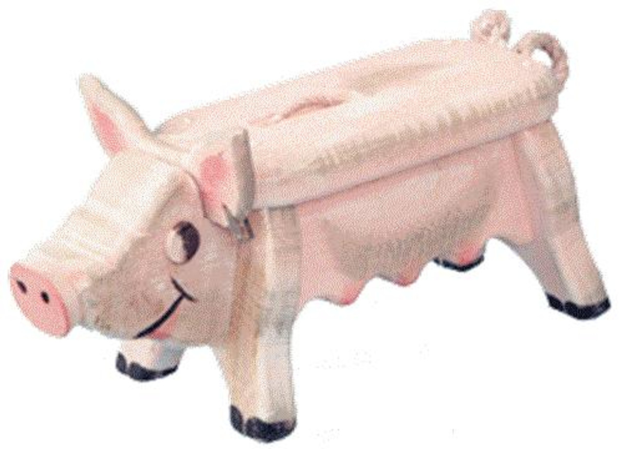 Cherry Tree Toys Woodendipity Kitchin Pig Footstool Plan