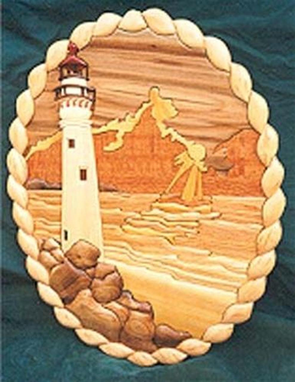 Cherry Tree Toys Lighthouse Intarsia Plan