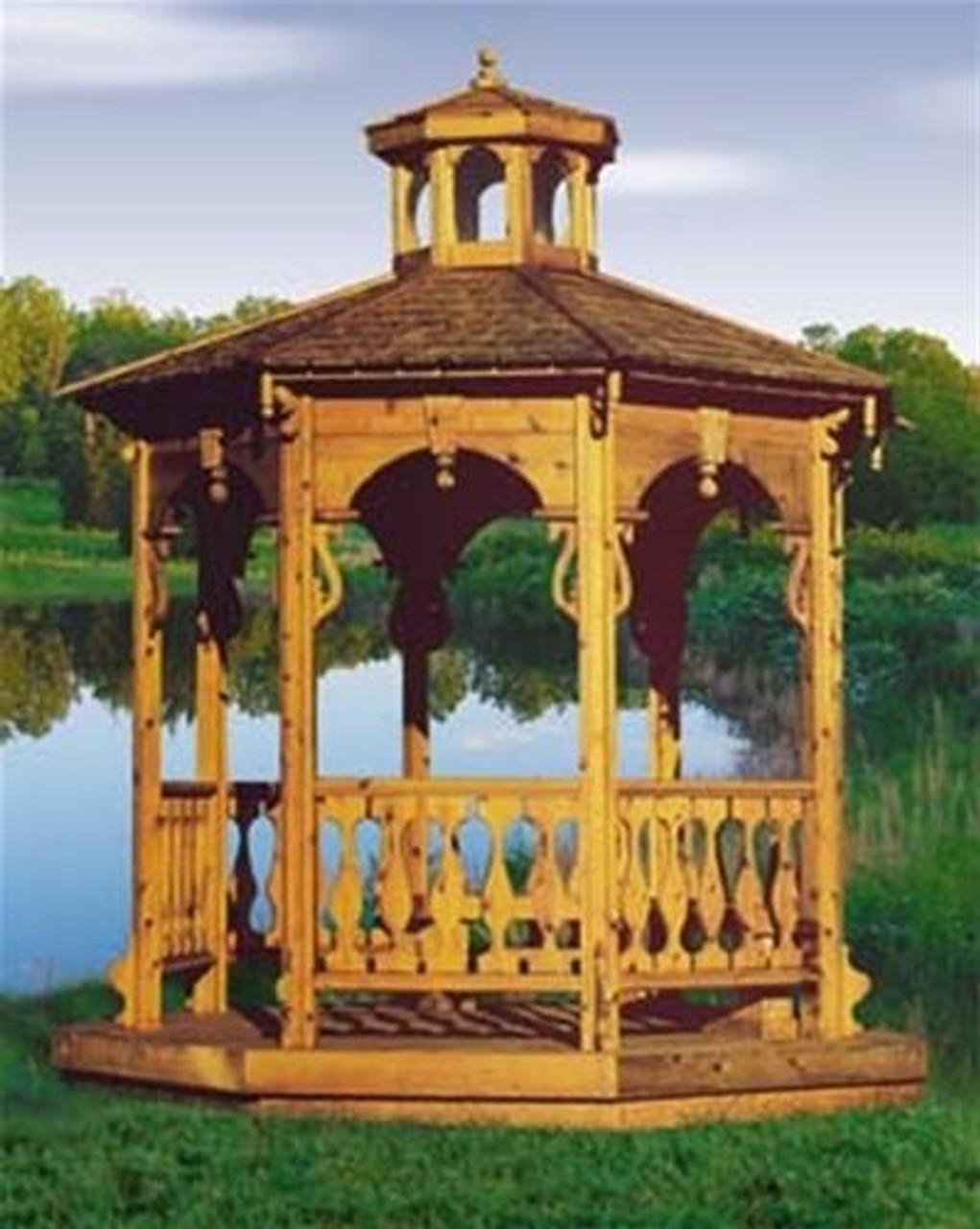 Winfield Collection Garden Gazebo Woodworking Plan