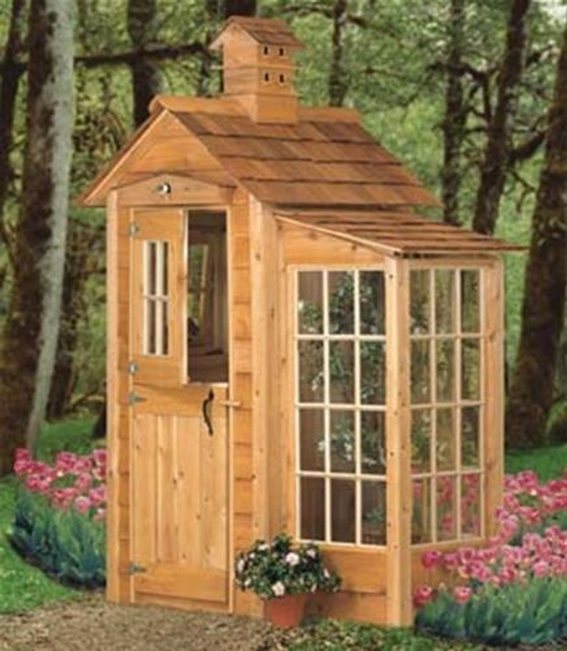 Winfield Collection Garden Shed and Accents Woodworking Plan