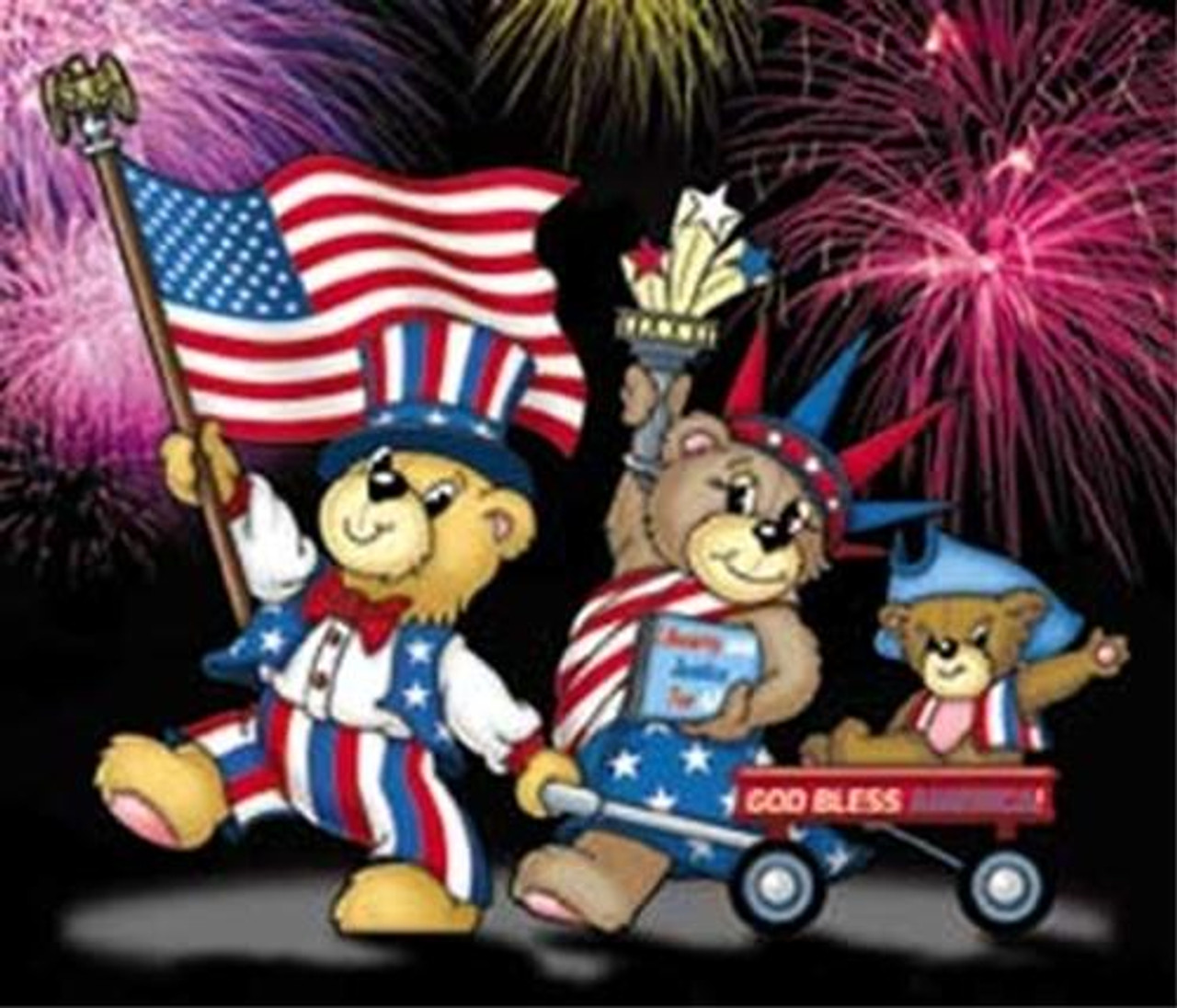Winfield Collection Bear-y Patriotic Family Woodworking Plan