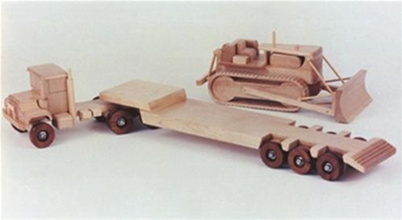 Cherry Tree Toys Heavy Hauler/Cat/Mack Woodworking Plan