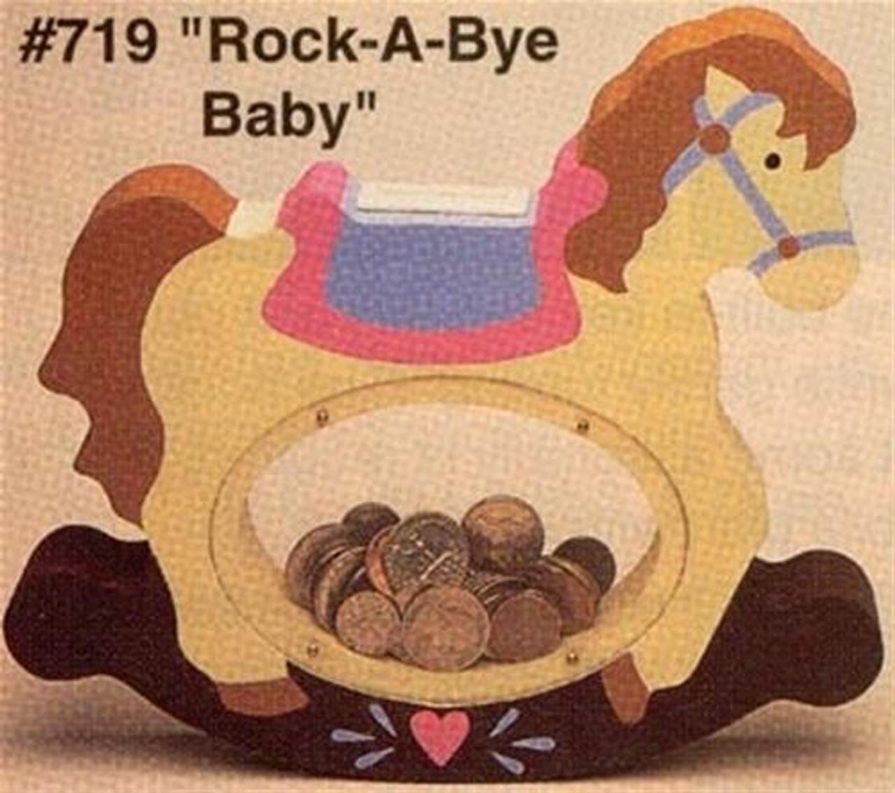 Cherry Tree Toys Rock A Bye Baby Bank Plan