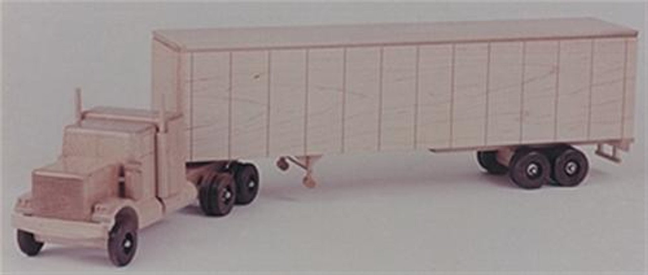 Cherry Tree Toys Trailer/Chevy Bison Woodworking Plan