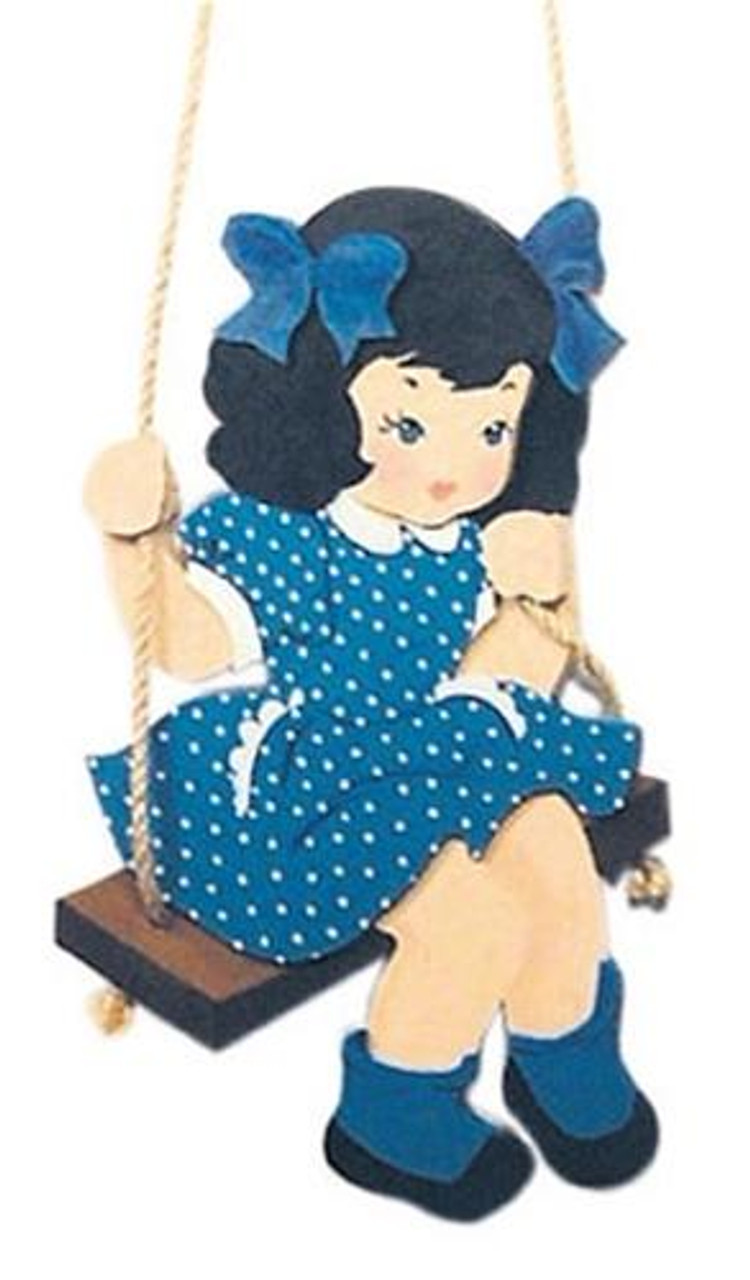 Cherry Tree Toys Girl On a Swing Plan