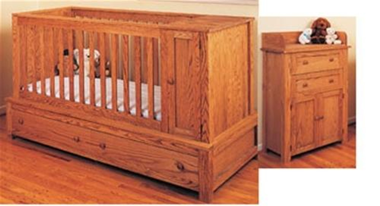 Cherry Tree Toys Special Cribe and Bed, Changing Table and Dresser Plan