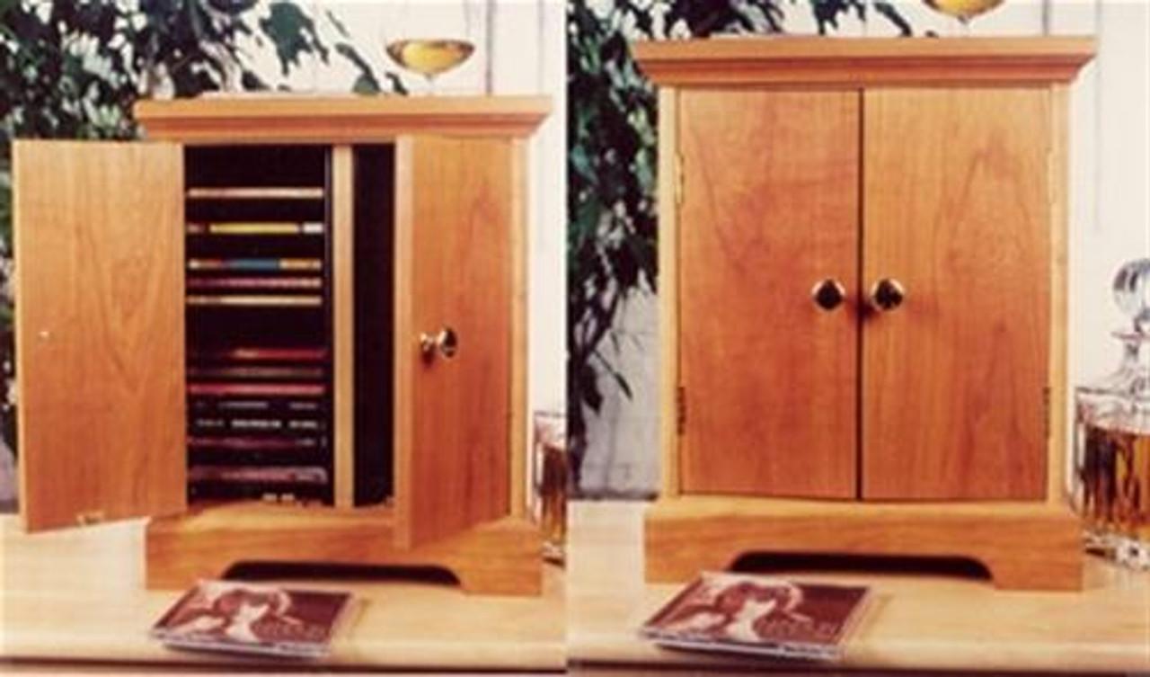 Cherry Tree Toys CD Cabinet Plan