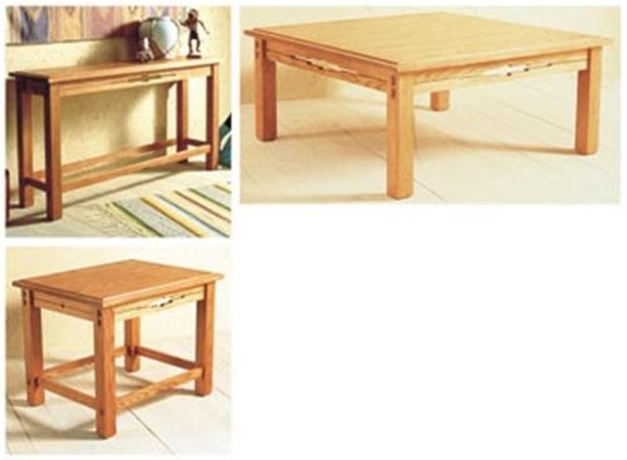 Wood Magazine Southwest Table Trio Plan