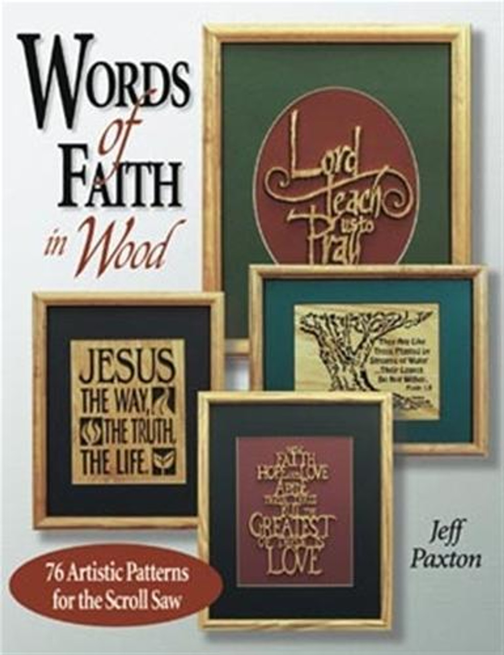 Fox Chapel Publishing Words Of Faith In Wood
